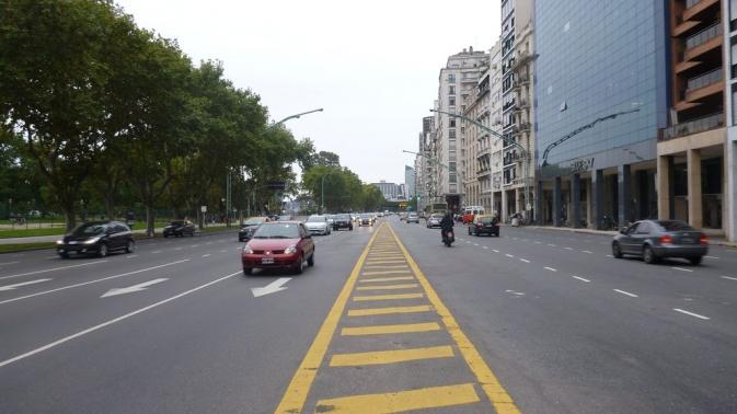 Avenue Leopoldo Lugones - Buenos Aires