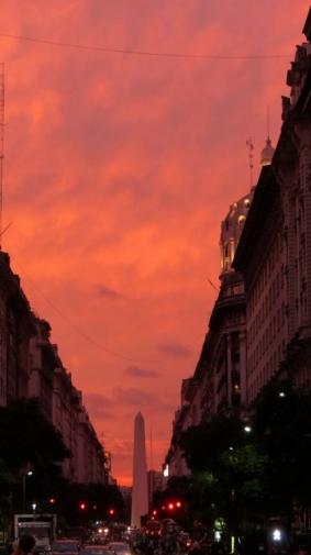 Avenue Pres. Roque Saenz Pena - Buenos Aires