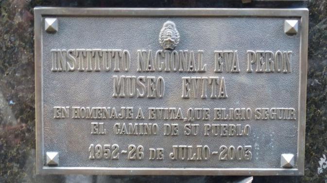 Sépulture d\'Eva Peron - Buenos Aires