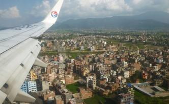 Vol Kunming - Katmandou