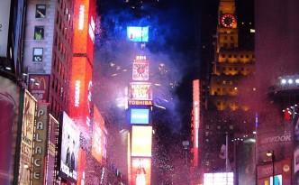 Bonne Année - Times Square - New York