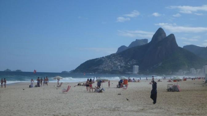 Plage d'Ipanema - Rio de Janeiro