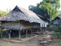 Village dans les montagnes de Chiang Mai
