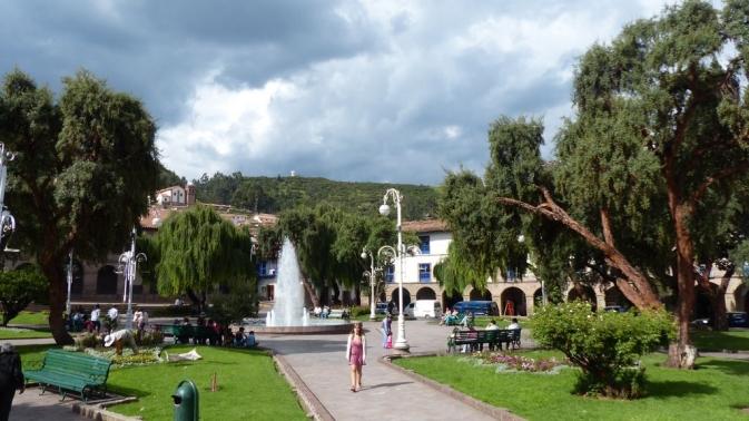 Plaza Del Regocijo - Cusco