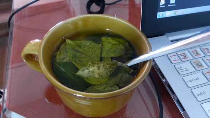 Thé a la coca - Cusco