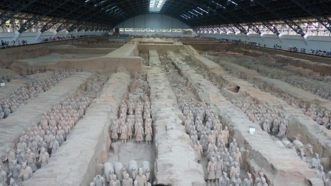 Xi\'an - l\'armée de terre cuite