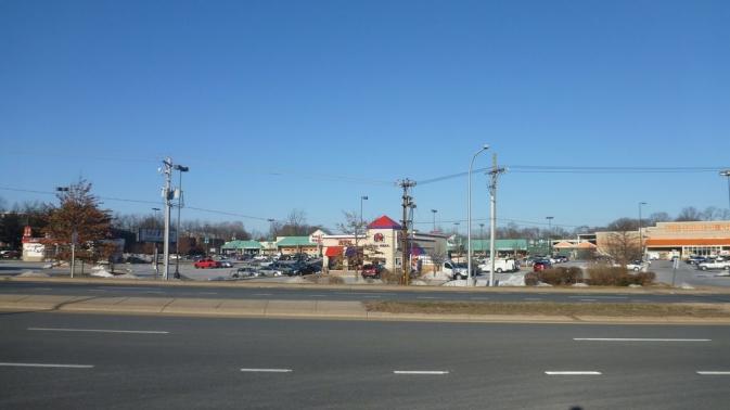 Echangeur I-95 - Claymont, Delaware