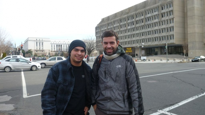 Romain et Tommy - Washington, D.C.