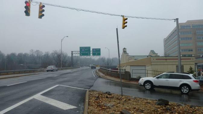 Echangeur I-95 - Arlington, Virginie