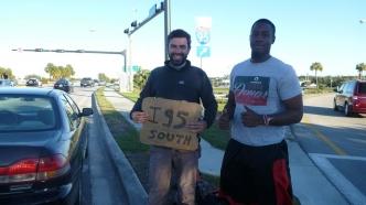 Le basketteur & Romain - Echangeur I-95 - Floride