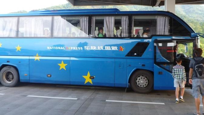 en route pour Huangshan