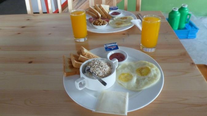 Tangkou - petit déjeuner !