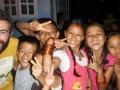première soirée à Katmandou