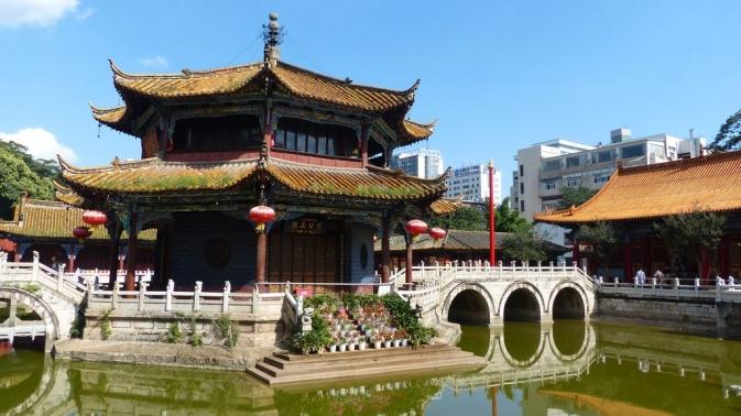 Kunming - Temple de Yuantong