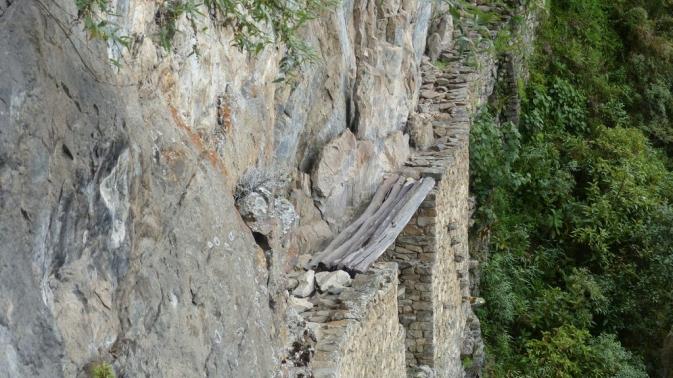 Inka Bridge - Machu Picchu