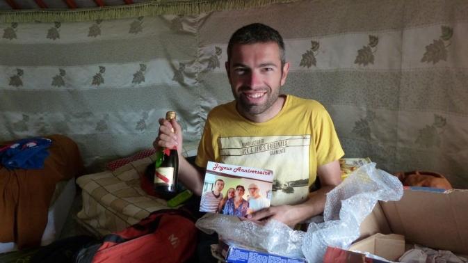 Romain et ses cadeaux - Oulan Bator