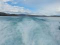 Torres del Paine - Jour 1 : trajet Refugio Pudeto / Refugio Paine Grande