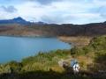 Torres del Paine - Jour 2 : Trajet Paine Grande / Campamento Italiano
