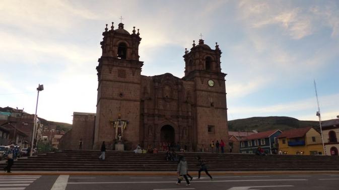 Puno - Plaza de Armas