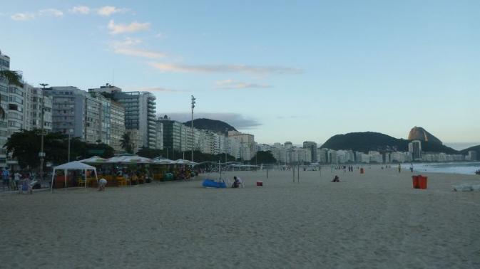 Plage de Copacabana - Rio de Janeiro