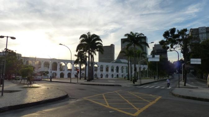 Les arches de Lapa - Rio de Janeiro