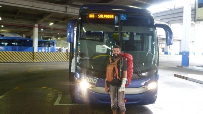 Bus Rio de Janeiro - Salvador de Bahia