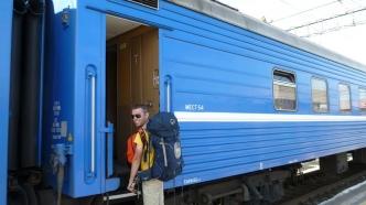 départ vers Novossibirsk - Ekaterinbourg