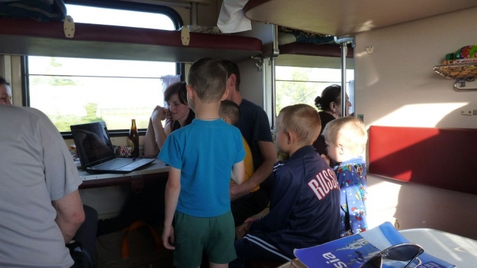train Ekaterinbourg - Novossibirsk