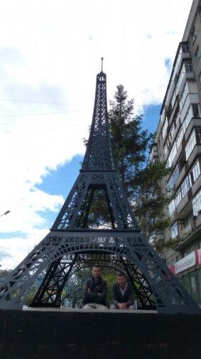 Tour Eiffel - Novossibirsk