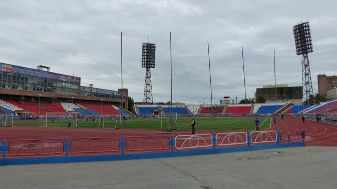 le fameux stade - Novossibirsk