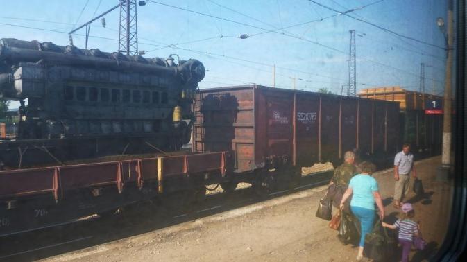 Train Novossibirsk - Irkoutsk