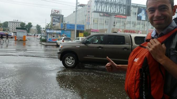 Irkoutsk sous la pluie