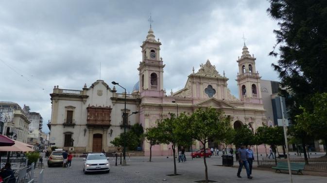 Plaza 9 de Julio - Salta