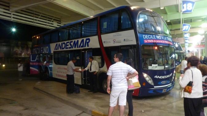 Bus pour Mendoza - Salta
