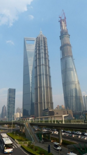 Pudong - Quartier financier