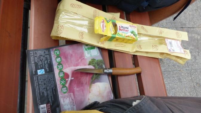 Sandwich jambon - beurre : merci Carrefour !