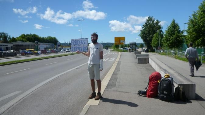 En route vers la France ! - Tübingen