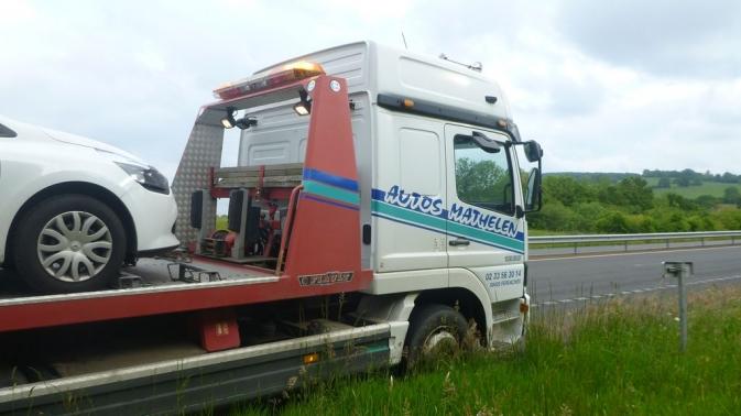Autoroute 84 - Entre Caen et Rennes