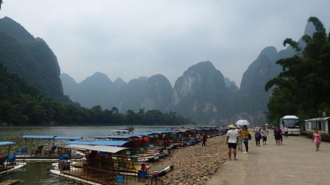 Yangshuo - rivière Li