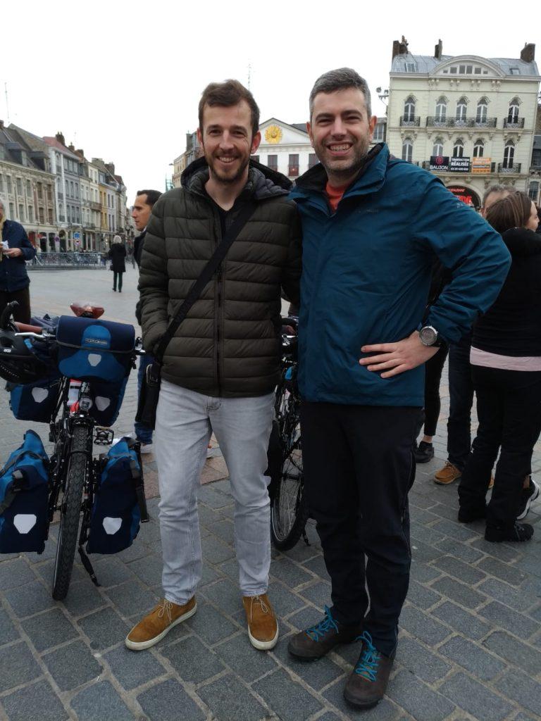 Jez et Romain à Lille